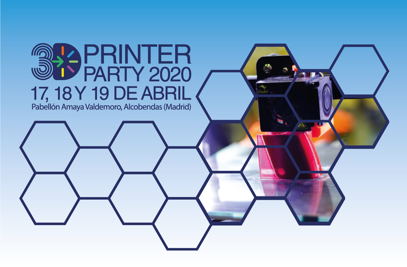Banner 3D Printer Party 2020